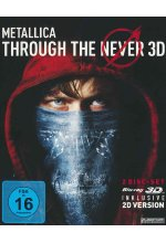Metallica - Through The Never  (+ Blu-ray) Blu-ray 3D-Cover