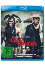 Lone Ranger  (2013) Blu-ray-Cover