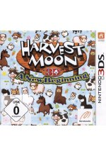 Harvest Moon - A New Beginning Cover