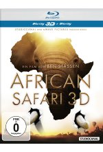 African Safari  (inkl. 2D-Version) Blu-ray 3D-Cover