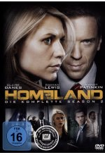 Homeland - Season 2  [4 DVDs] DVD-Cover