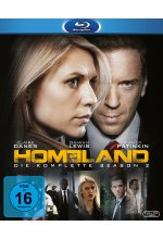Homeland - Season 2  [3 BRs] Blu-ray-Cover