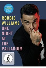 Robbie Williams - One Night at the Palladium DVD-Cover
