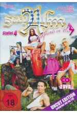 Sexy Alm - Girlfriends on Tour - Staffel 4 - Uncut Edition  [2 DVDs] DVD-Cover
