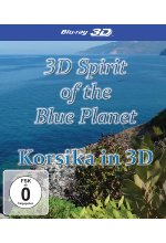 Korsika in 3D - 3D Spirit of the Blue Planet Blu-ray 3D-Cover