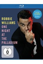 Robbie Williams - One Night at the Palladium Blu-ray-Cover