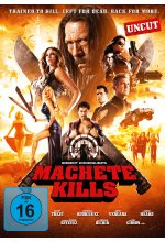 Machete Kills - Uncut DVD-Cover