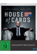 House of Cards - Season 1   [4 BRs] Blu-ray-Cover