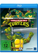 Teenage Mutant Ninja Turtles - Season 1/Episoden 1-56 Blu-ray-Cover