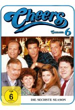 Cheers - Season 6  [4 DVDs] DVD-Cover