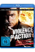 Violence of Action - Im Fadenkreuz der Gewalt - Ungeschnittene Fassung/The True Justice Collection 2 Blu-ray-Cover