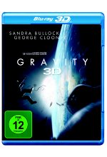 Gravity Blu-ray 3D-Cover