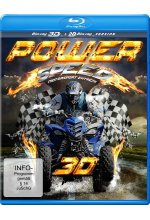 Power Speed - Motorsport extrem  (inkl. 2D-Version) Blu-ray 3D-Cover