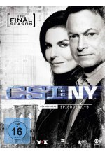 CSI: NY - Season 9.1 - The Final Season - Limitierte Auflage  [3 DVDs] DVD-Cover