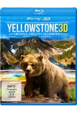 Yellowstone 3D - Amerikas grösstes Naturwunder  (inkl. 2D-Version) Blu-ray 3D-Cover