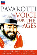 Pavarotti - A Voice For The Ages DVD-Cover