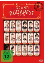 Grand Budapest Hotel DVD-Cover