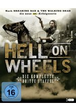 Hell on Wheels - Die komplette dritte Staffel  [3 BRs] Blu-ray-Cover