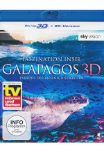 Faszination Insel - Galapagos  (inkl.2D-Version) Blu-ray 3D-Cover
