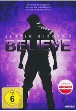 Justin Bieber's Believe DVD-Cover