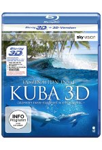 Faszination Insel - Kuba  (inkl. 2D-Version) Blu-ray 3D-Cover