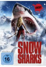 Snow Sharks - Uncut DVD-Cover