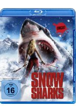 Snow Sharks - Uncut Blu-ray-Cover
