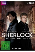 Sherlock - Staffel 3  [2 DVDs] DVD-Cover