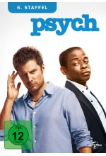Psych - Season 6  [4 DVDs] DVD-Cover
