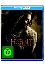 Der Hobbit 2 - Smaugs Einöde  [2 BR3Ds] Blu-ray 3D-Cover