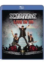 Scorpions - Get Your Sting And Blackout/Live 2011 Blu-ray 3D-Cover