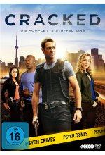 Cracked - Staffel 1  [4 DVDs] DVD-Cover