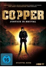 Copper - Justice Is Brutal/Staffel 1  [3 DVDs] DVD-Cover