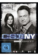 CSI: NY - Season 9.2 - The Final Season  [3 DVDs] DVD-Cover
