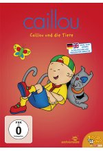 Caillou und die Tiere DVD-Cover