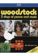 Woodstock  - 40th Anniversary Edition  [DC] [2 BRs] Blu-ray-Cover