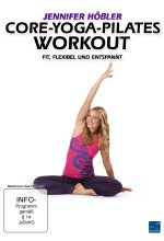 Jennifer Hößler - Core-Yoga-Pilates Workout DVD-Cover