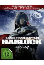 Space Pirate Captain Harlock - Steelbook  [LCE] (inkl. 2D-Version) (+ DVD) Blu-ray 3D-Cover