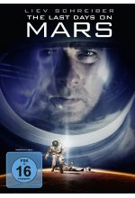 The last Days on Mars DVD-Cover