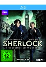 Sherlock - Staffel 1-3  [6 BRs] Blu-ray-Cover