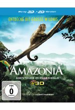 Amazonia - Abenteuer im Regenwald  (inkl. 2D-Version) Blu-ray 3D-Cover