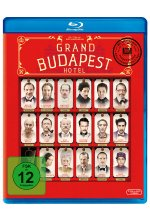Grand Budapest Hotel Blu-ray-Cover