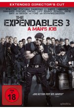 The Expendables 3 - A Man's Job - Extended Director's Cut DVD-Cover
