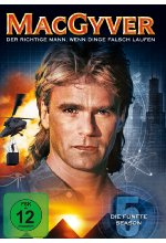 MacGyver - Season 5  [6 DVDs] DVD-Cover