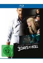 3 Days to Kill Blu-ray-Cover
