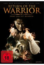 Return of the Warrior - Uncut Edition DVD-Cover