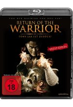 Return of the Warrior - Uncut Edition Blu-ray-Cover