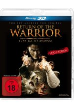Return of the Warrior - Uncut Edition Blu-ray 3D-Cover