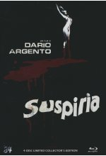 Suspiria - Uncut  [LCE]  (+ 2 DVDs) (+ Soundtrack-DVD) - Mediabook Blu-ray-Cover