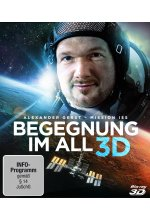 Begegnung im All - Mission ISS Blu-ray 3D-Cover